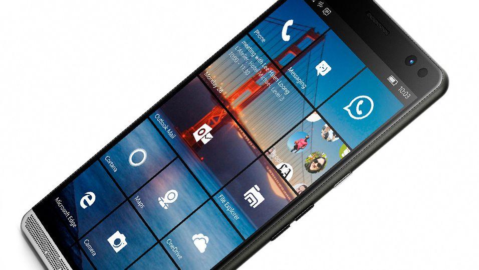Elitetelefon: HPs nye Windowstelefon: Legger seg et godt stykke foran Microsofts Lumiamodeller.