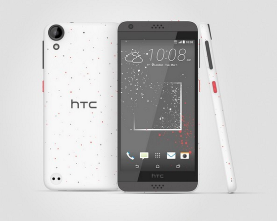 Slik ser HTC Desire 530 ut.