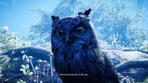 Ugla blir din første følgesvenn i Far Cry Primal.