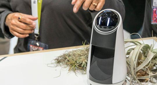 Sonys Xperia Agent har like sært utseende som Rolling Bot og kan gjøre litt av det samme, men den triller ikke rundt slik kula fra LG gjør.