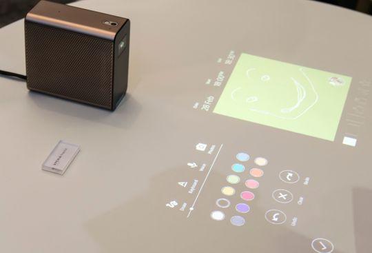 En projektor delvis basert på samme logikk er sluppet. Xperia Projector lar deg leke med innholdet den viser frem rett på bordplaten. Heller ikke denne har endelig slippdato.