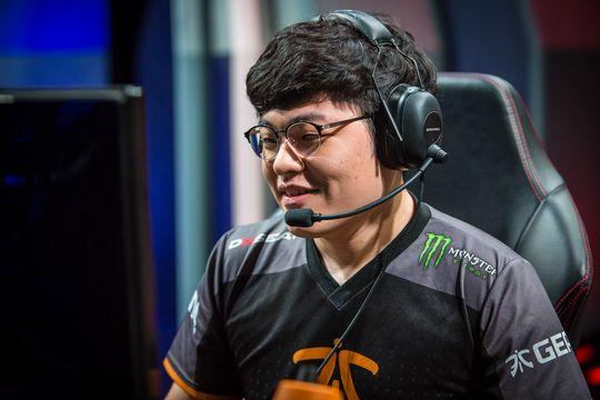Yeong-Jin «Gamsu» Noh er ny Top Lane-spiller i Fnatic.