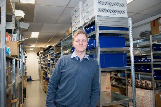 –Det står kanskje andre ting på knappene, men oppbygningen er lik Office-pakken, forteller Øyvind Selboe om brukergrensesnittet.