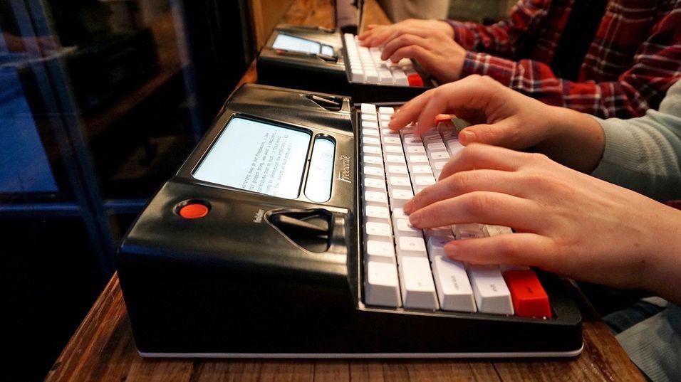 Den smarte skrivemaskinen FreeWrite.