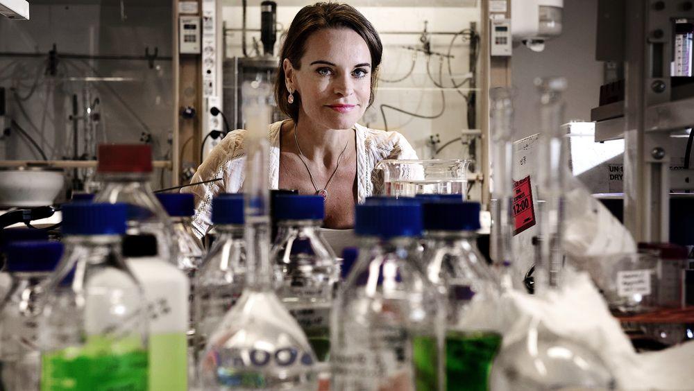 Maria Strømme ble Universitetet i Uppsalas første professor i nanoteknologi for 11 år siden. I 2012 fikk hun Kungliga Ingenjörsvetenskapsakademiens gullmedalje.