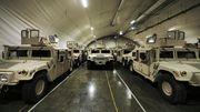 Til sammen er det lagret rundt 600 Humvee-er i ulike versjoner