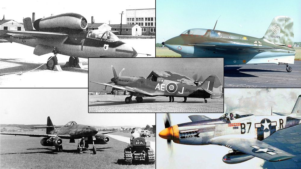 Her er de beste WWII-jagerne