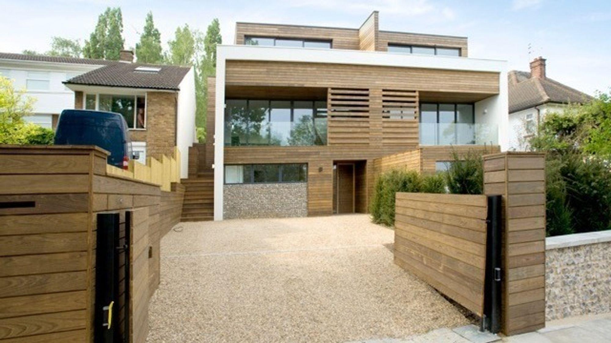 Legal & General Homes planlegger å bygge 3000 prefabrikerte hus i den nye fabrikken hvert år. .