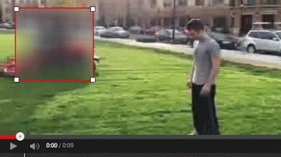 Nå blir det enkelt å sladde objekter i YouTube.