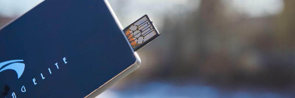 Protag Elite med USB.utgangen ute.