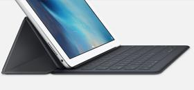 En ny og mindre versjon av Smart Keyboard skal visstnok også være på vei til den kommende 9,7-tommeren. Dette er den eksisterende iPad Pro-versjonen.