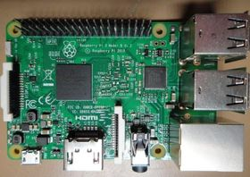 Raspberry Pi 3 Model B.
