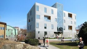 I løpet av våren skal 30 - 40 studenter, samt gjesteforelesere og forskere flytte inn i HSB Living Lab ved Chalmers universitet i Sverige.