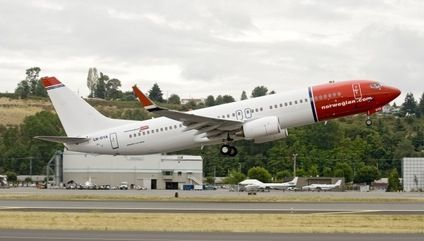 Foto: Norwegian (fra Seattle)