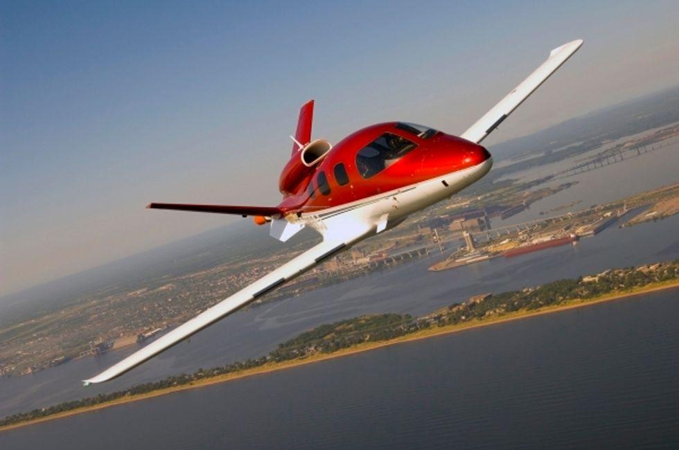 Cirrus Vision SF-50. Foto: Cirrus Aircraft