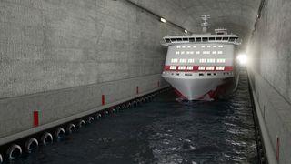 Transportetatene anbefaler kjempeinvestering i Stad skipstunnel