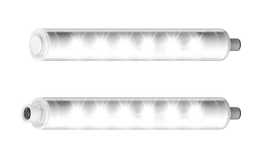 Led-lys spesielt for næringsmiddel- og farmasøytisk industri. Produsert av Banner distribuert av HF Danyko