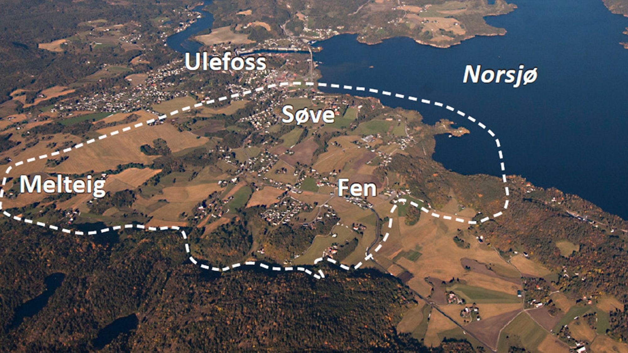Fensfeltet i Telemark kan ha enormt mye thorium og sjeldne jordartsmetaller. Regiongeologen vil bore to 1000 meter dype hull for å finne ut hvor mye. Hvor hullene eventuelt skal bores, er ennå ikke bestemt.