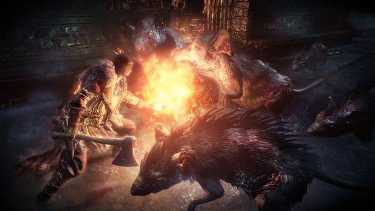 Ingen Souls-spill er komplett uten forvokste rotter!
