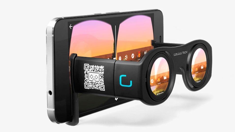 Slik ser de nye Goggle Tech C1-brillene ut.