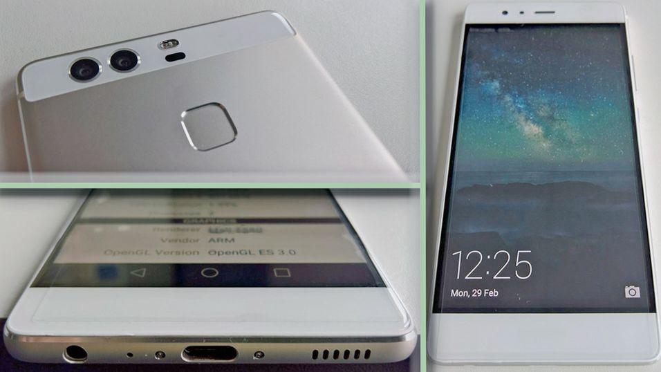 Slik skal nye Huawei P9 bli seende ut, ifølge ryktene.