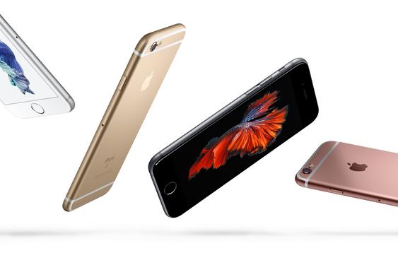 Sølv, Gull, Stellargrå og Rosegull: alle fargene dagens generasjon iPhone kommer levert med.