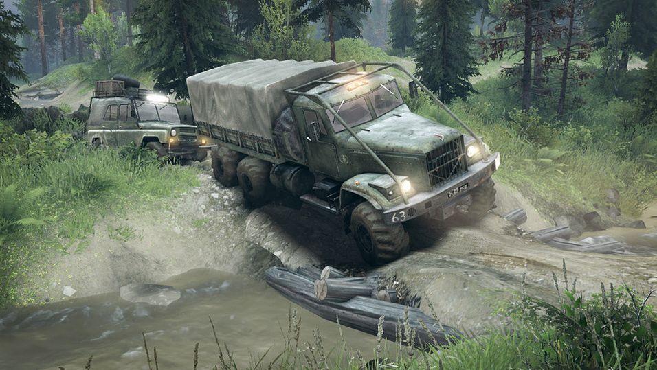 Spintires er fjernet fra Steam på grunn av stor feil med spillet