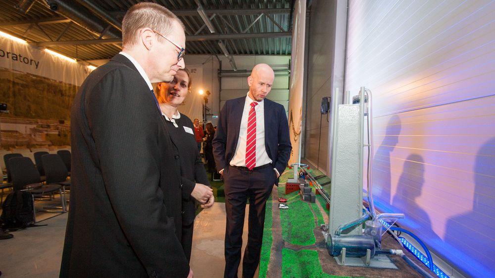 Åpnet oppgradert laboratorium i Trondheim: – Her er vi verdensledende, mener Tord Lien