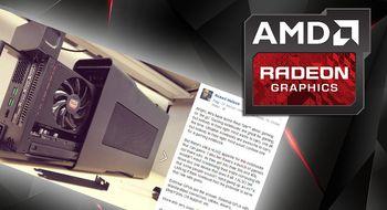 AMD kaster seg inn i det eksterne grafikkmarkedet