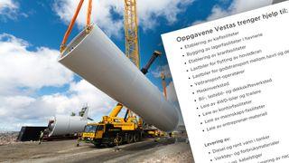 Vindkraftutbyggerne skal bruke 1-2 milliarder hos bedrifter i Midt-Norge. Dette trenger de
