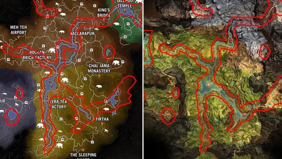 Far Cry Primal låner mer av Far Cry 4 enn vi visste