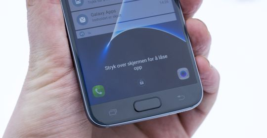Fingeravtrykkleseren virker å ha blitt et par hakk bedre siden Galaxy S6.