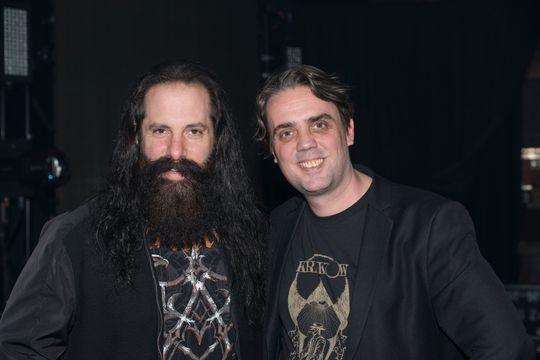 Petrucci og Breien er fornøyd med hverandres bidrag til prosjektet.
