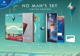 No Man's Sky Limited Edition på PlayStation 4.