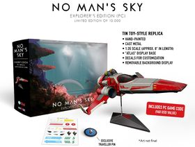 No Man's Skys Explorer Edition på PC.