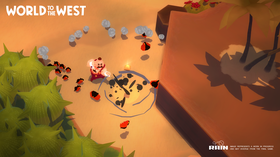 World to the West er ikke en direkte Teslagrad-oppfølger.