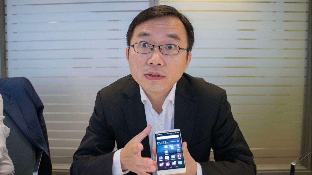 Seniordirektør i Huawei Handset Product Management, Shawn Sheng.