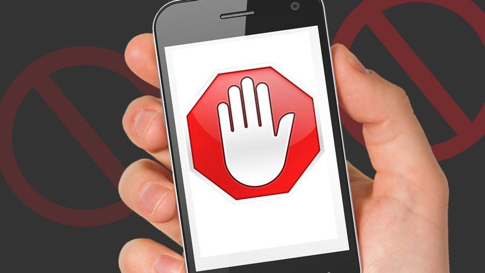 Hit men ikke lenger. Annonser kan nå relativt enkelt blokkeres på mobilen. Og det er ikke så vanskelig å blokkere de som bruker slike verktøy heller.