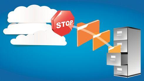 Forbudet mot arkiv i utenlandsk nettsky forsvinner, hvis dette blir vedtatt