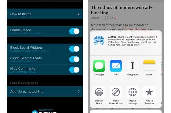 Annonseblokkering allerede en «hit» i App Store