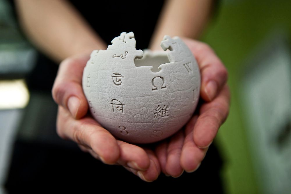 Wikipedia holdes fram