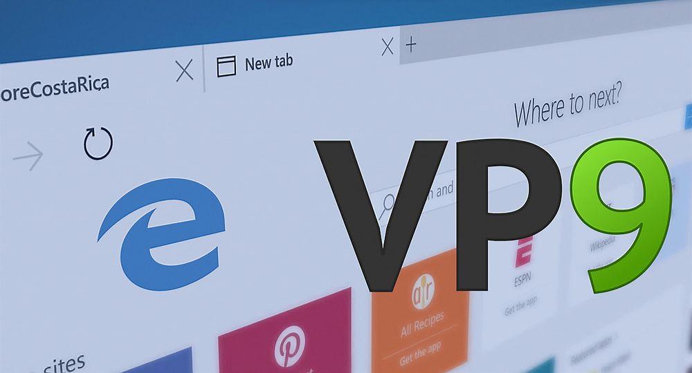 Microsoft Edge og VP9