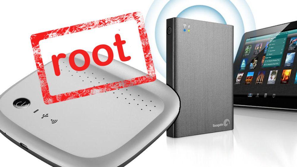 Forskere har påvist at Seagate-harddisker med WiFi er vidåpne for misbruk av uautoriserte brukere.