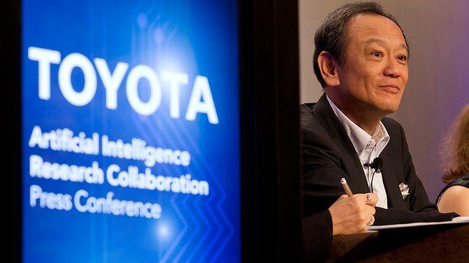 Toyota vil gi bilene kunstig intelligens