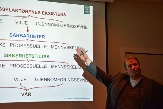 Norske bedrifter er fortsatt for naive, sier Roar Thon i NSM.