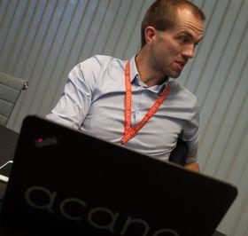 Carl Erik Nærum er salgsingeniør i Acano.
