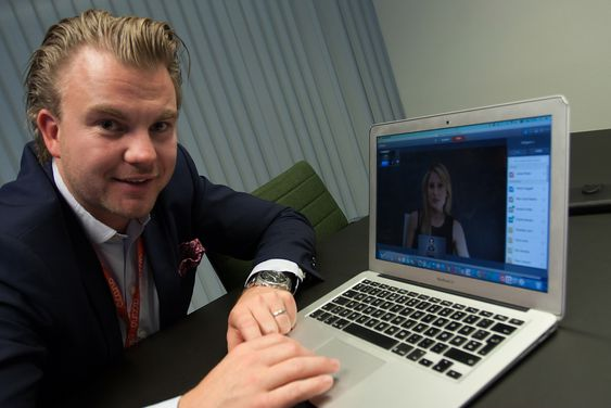 Christian Stramrud er norgessjef i Acano.