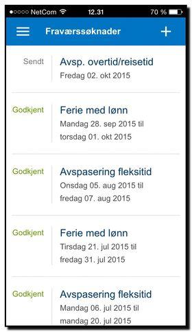 DFØ-app