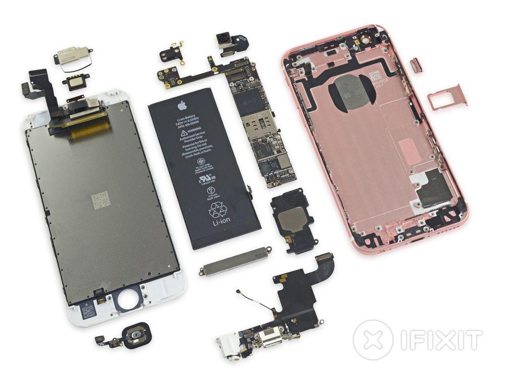Det finnes to varianter av A9-brikken, forskjellen er i størrelse og produksjonsprosess, skriver Chipworks.