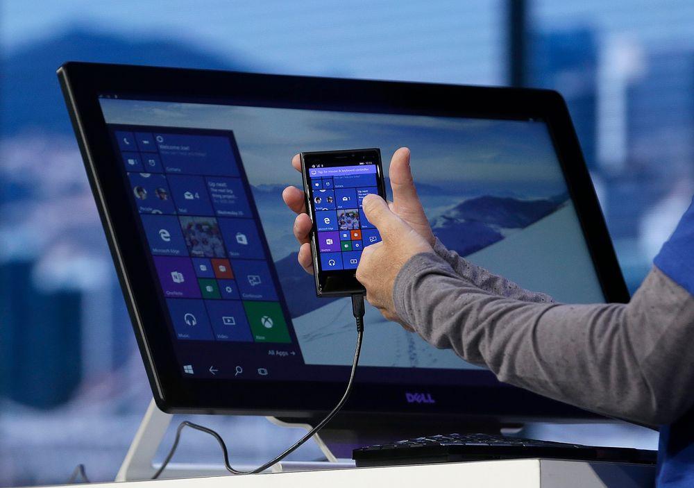 Continuum er noe mange smartmobiler og nettbrett med Windows 10 vil støtte. Funksjonen skal kunne få mobile enheter til å fungere som en pc.